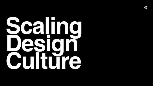 Scaling Design Culture