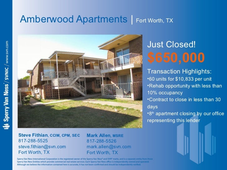 Amberwood Apartments ...