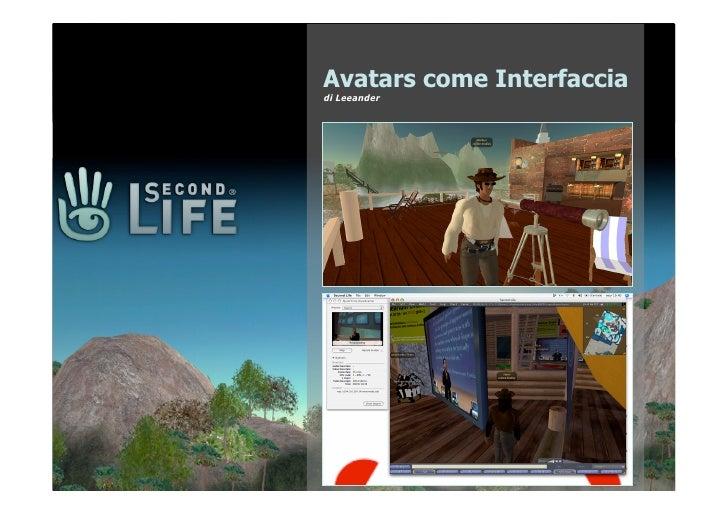 Avatars come Interfaccia di Leeander