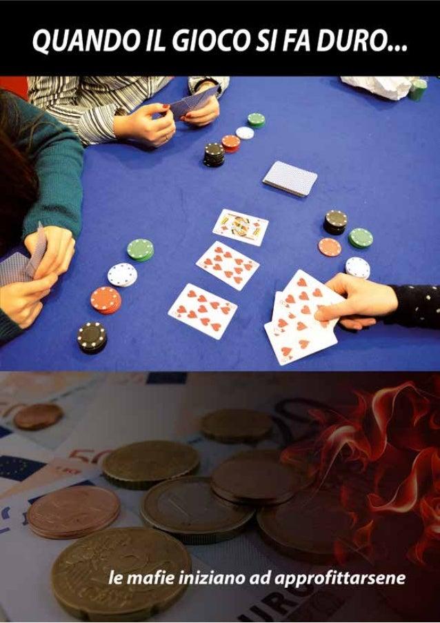 Ripercussioni sulla vita del giocatore L'effetto negativo del gioco si ripercuote principalmente: • Sulla famiglia: discus...