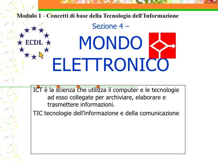 Mondo elettronico