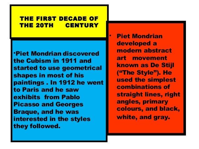 Piet Mondrian for kids