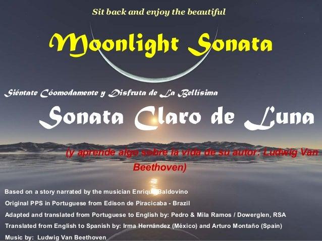 Moonlight Sonata Siéntate Cóomodamente y Disfruta de La Bellísima Sonata Claro de Luna (y aprende algo sobre la vida de su...