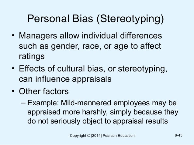 personal bias and departmental bias Importance of police-community relationships and  these tactics raise issues of racial bias that permeate the  groups to break down personal barriers.