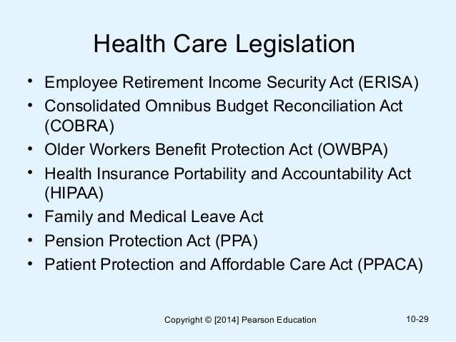 Welfare Benefits & ERISA
