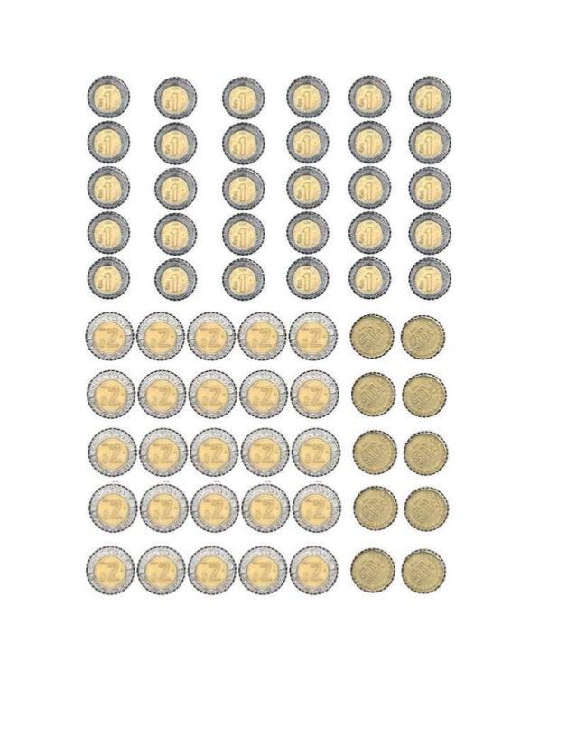 Monedas de Mexico para imprimir