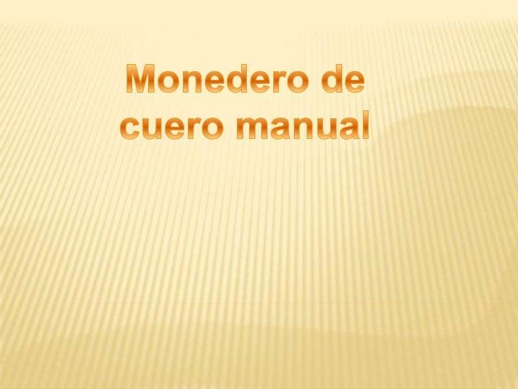 ENTRADA:Materiales:   Cuero (color a elección)   Aguja de lana   Macramé   Botón   Tijeras   Hilo   Aguja normal
