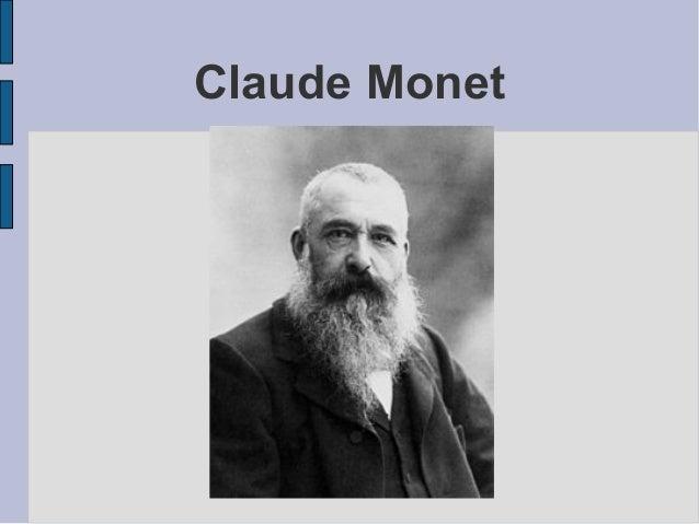 Claude Monet     Titre