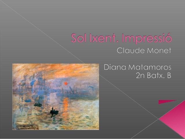  Pintor representatiu de l'impressionisme. Contactes amb pintors com Renoir,  Bazille, Pissarro i Sisley. Va viatjar a ...