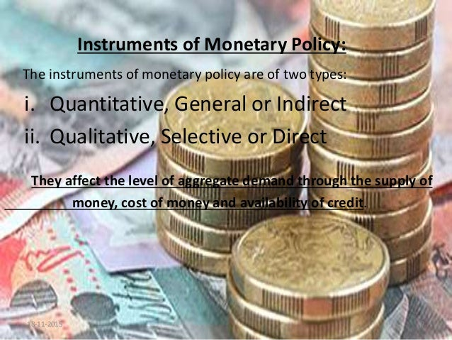 monetary policies in india Home news reserve bank holds repurchase rate steady at india: reserve bank holds repurchase rate looking for forecasts related to monetary policy in india.