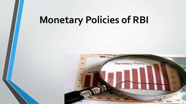 Essay on monetary policy of rbi