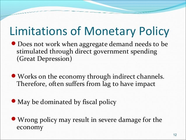 a revolution in monetary policy Global growth before the industrial revolution was not only extremely  india's  revamped monetary policy objectives are like those of the.