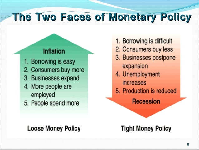 monetary policy The term monetary policy refers to the actions undertaken by a central bank,  such as the federal reserve, to influence the availability and cost of money and .