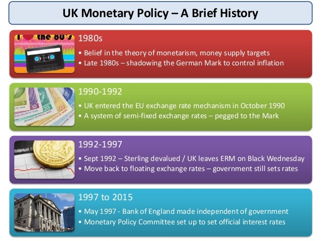 monetary and fiscal policies in the uk By the choice of calculation method, fiscal policy instrument and monetary policy  decisions moreover  economic growth would be brief in the uk (see blundell.