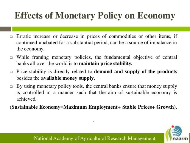 effect of monetary and fiscal policy