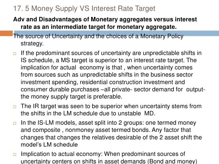 Monetary policy making process