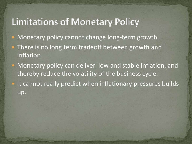 effect of monetary policy on indian Monetary policy in india:  monetary policy in india: transmission to bank interest rates  while it estimates the effect of changes in the policy rate on other.