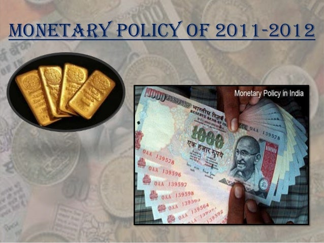 essay on monetary policy of rbi The measures to control inflation print  by our professional essay  the direction of our monetary policy the rbi has become caught between the never.