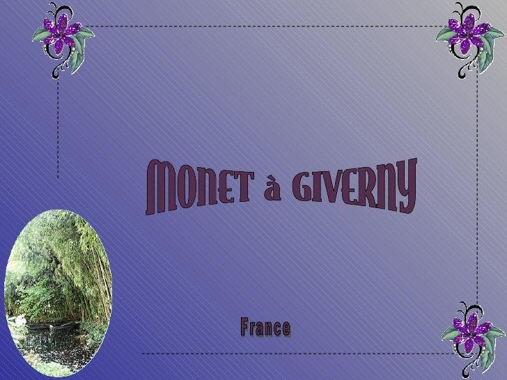 Monet  giverny_france Slide 2