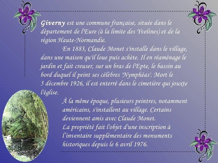 Monet  giverny_france Slide 3