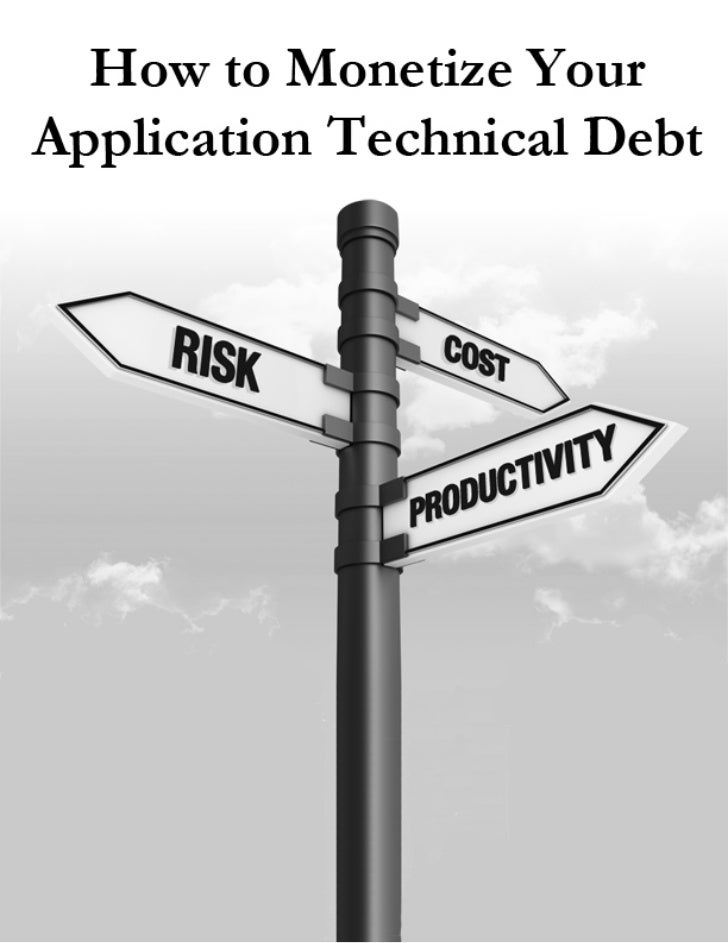 White Paper              How to Monetize Your Application              Technical Debt              A Data-Driven Approach ...