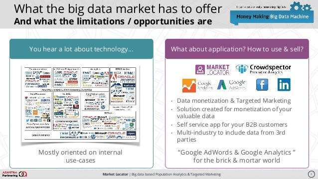 Market Locator   Big data based Population Analytics & Targeted Marketing You hear a lot about technology…You hear a lot a...