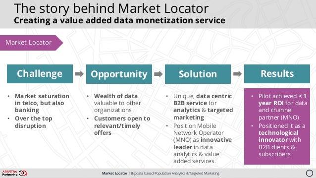 Market Locator   Big data based Population Analytics & Targeted Marketing Solution • Unique, data centric B2B service for ...