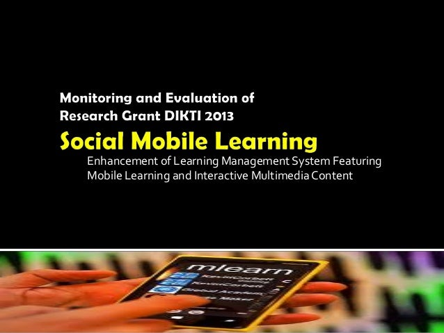 Enhancement of Learning Management System Featuring Mobile Learning and Interactive Multimedia Content