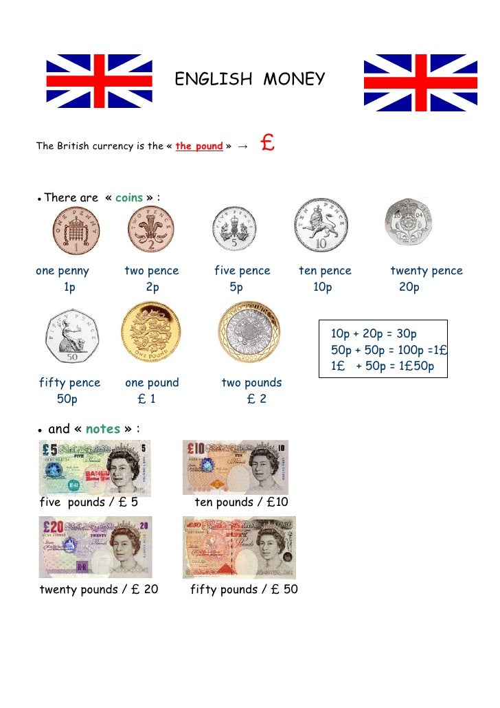 what kind of currency does the uk use