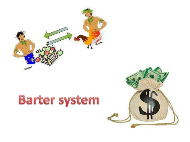 Problems associated with barter trade system