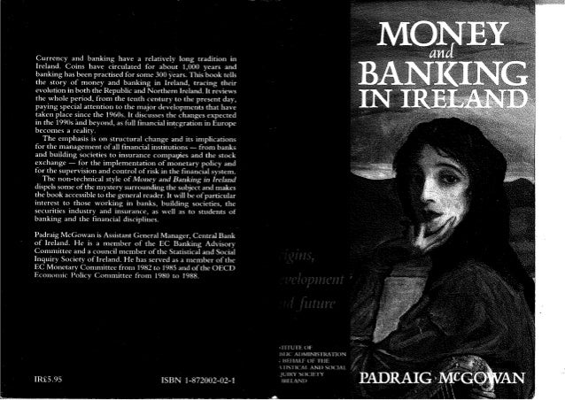 Money and Banking in Ireland (1990)