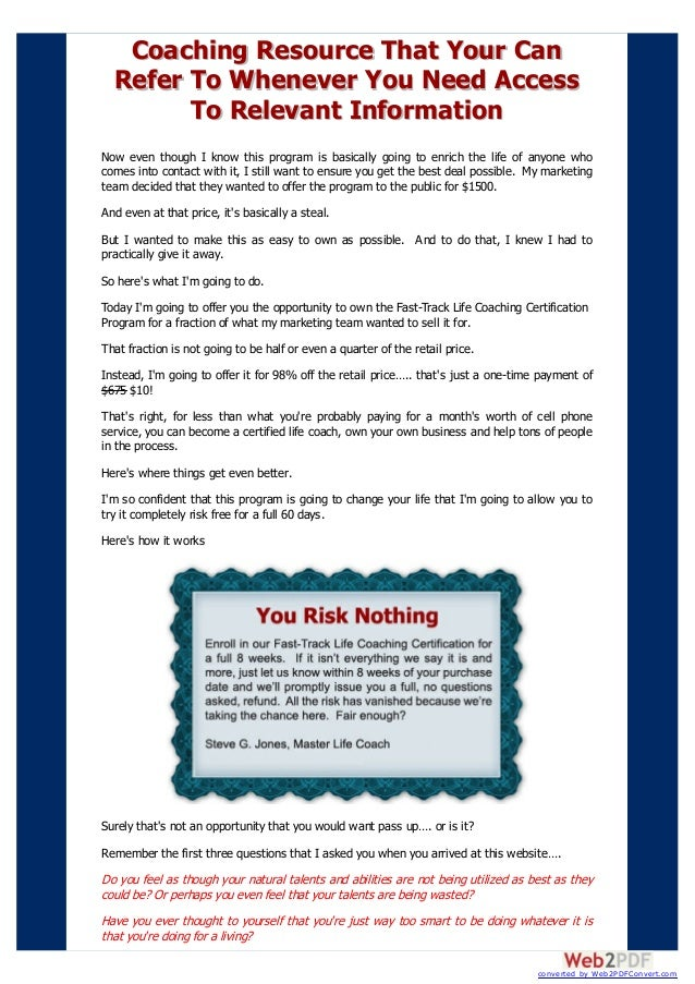 Money Making Life Coach From Home Life Coaching Certification