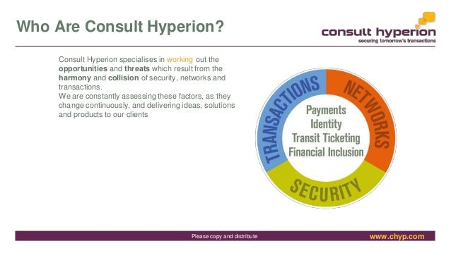 www.chyp.comPlease copy and distribute Who Are Consult Hyperion? Consult Hyperion specialises in working out the opportuni...