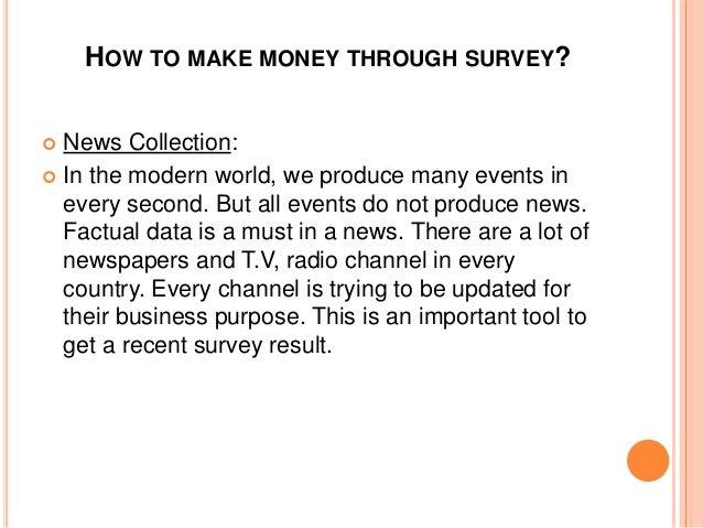 how to make money through surveys