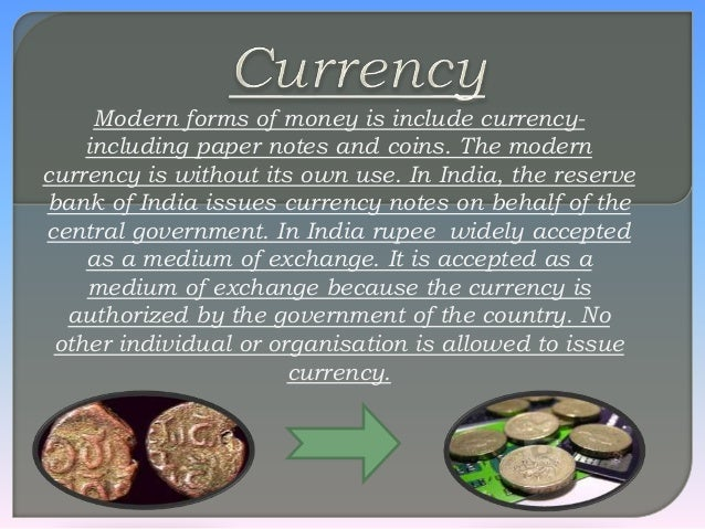 Currency and medium lo