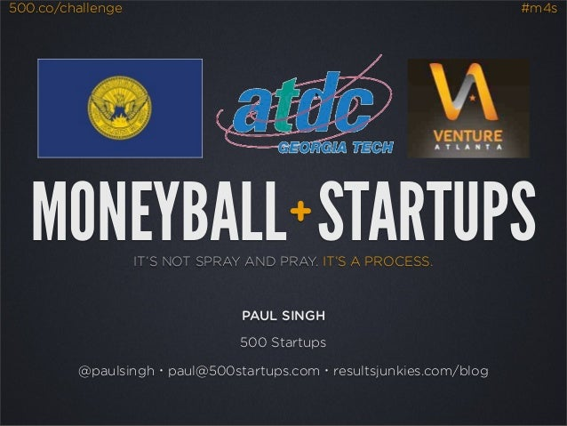 500.co/challenge                                                   #m4s   MONEYBALL STARTUPS                  +           ...