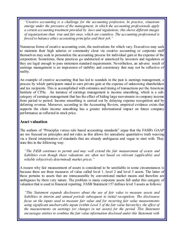 review of accounting ethics Review of accounting ethics review of accounting ethics many organizations have been in the news over the past few years due to accounting.