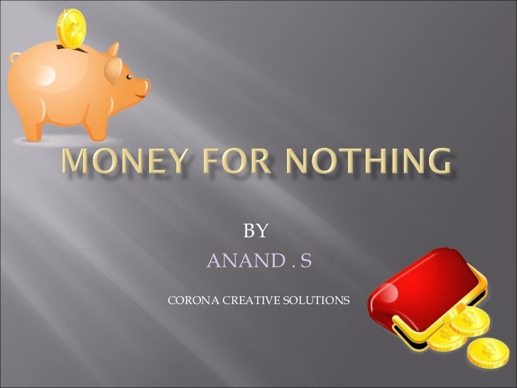 BY  ANAND . S CORONA CREATIVE SOLUTIONS