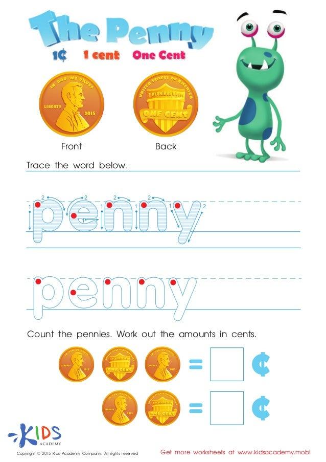 FREE Money games for kids at Preschool and Kindergarten