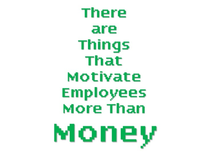 debate money a motivator It works, but studies show that only the prospect of receiving money in the near future is a strong enough motivator to change behavior once the employee receives the money, its power to.