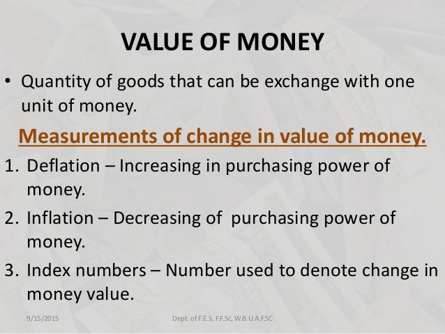 money its functions and characteristics Money is often defined in terms of the three functions or services that it provides money serves as a medium of exchange, as a store of value functions of money.