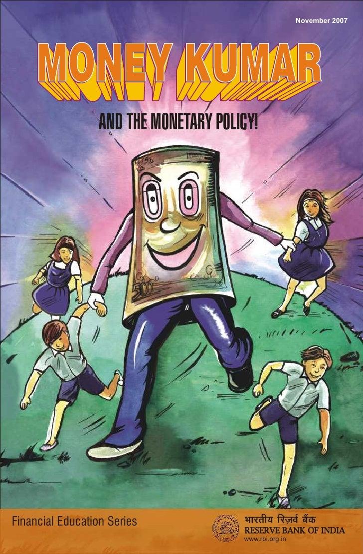Money Kumar Comic