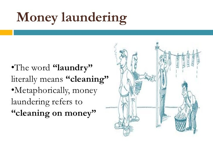 essay on anti-money laundering Anti-money laundering literature search financial/banking sector world bank institute   this document prepared by christian eigen-zucchi, with the assistance of massimo mastruzzi.
