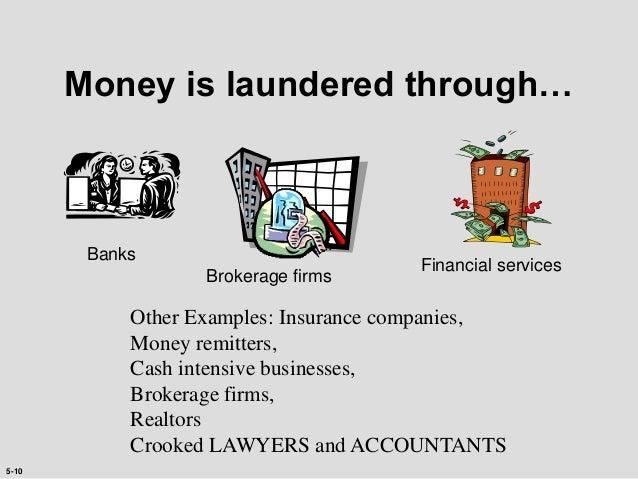 Of money laundering examples FFIEC BSA/AML