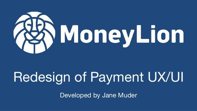 Redesign of Payment UX/UI Developed by Jane Muder