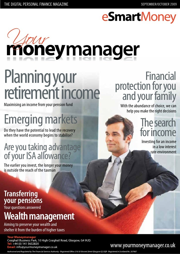 The DIGITAL personAL fInAnce mAGAzIne                           sepTemBer/ocToBer 2009     Planning your                  ...