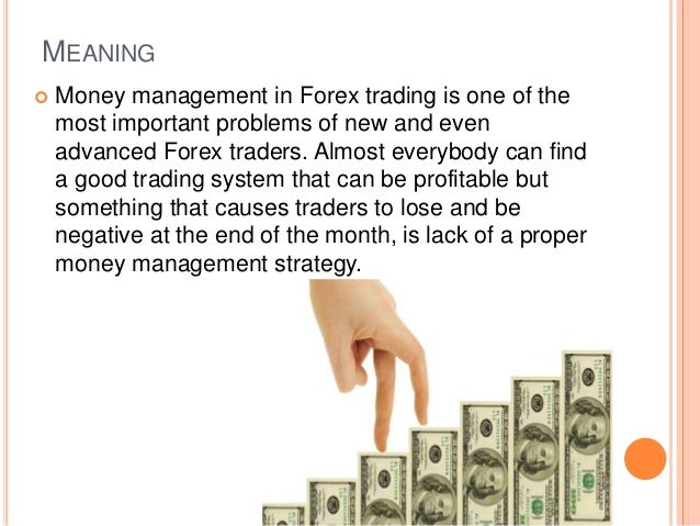 Forex trading money management rules