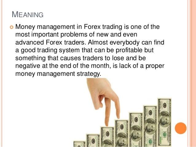 Online Forex Money management Slide 2