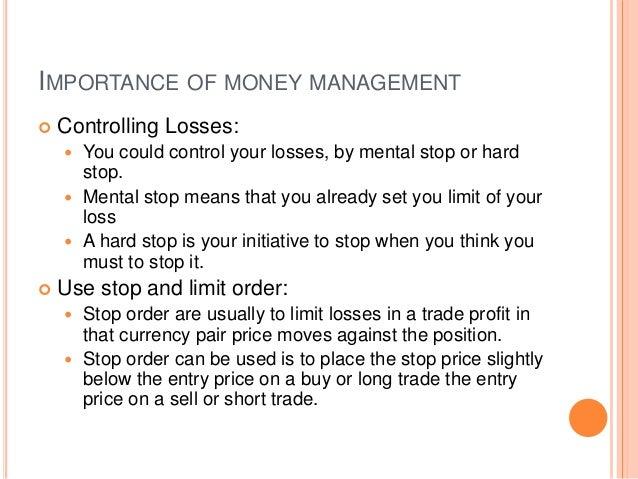 Online Forex Money management Slide 3