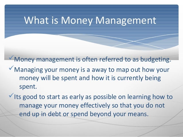 how to manage and secure your finances If your employees don't understand how to manage their own money, how will they know what's really at stake when it comes to your business by teaching them how to.